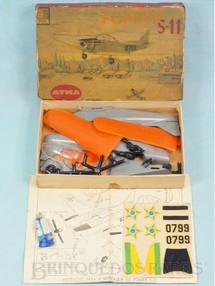 1. Brinquedos antigos - Atma - Avião Fokker S-11 Década de 1960