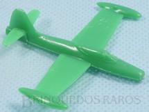 Brinquedos Antigos - Sem identificação - Avião Republic F-84 Thunderjet com 6,00 cm de envergadura Brinde dos Sucrilhos Kelloggs Década de 1960