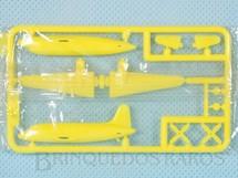 1. Brinquedos antigos - Sem identificação - Avião Vickers VC1 Viking com 6,50 cm de envergadura Brinde dos Sucrilhos Kelloggs Embalagem lacrada ainda por montar Década de 1960