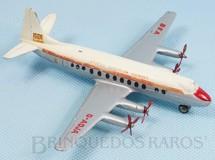 Brinquedos Antigos - Dinky Toys - Avião Vickers Viscount British European Airways com 15,00 cm de envergadura Ano 1957