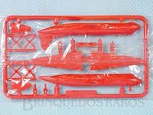 1. Brinquedos antigos - Sem identificação - Avião Vickers Viscount com 7,00 cm de envergadura Brinde dos Sucrilhos Kelloggs Embalagem lacrada ainda por montar Década de 1960