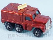 1. Brinquedos antigos - Matchbox - Badger Rola-Matics vermelho metálico cream antennae