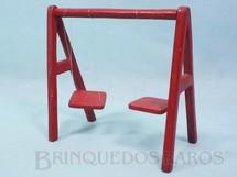 1. Brinquedos antigos - Balila - Balanço do Conjunto Escolinha do Professor Coelho com 15,00 cm de altura Década de 1960