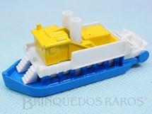 1. Brinquedos antigos - Corgi Toys-Kiko - Barco Paddle Steamer Série Wild West Brazilian Corgi Jr Kiko Década de 1980