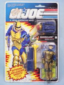 1. Brinquedos antigos - Hasbro - Barricade Bunker Buster completo Blister lacrado Ano 1991