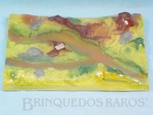 1. Brinquedos antigos - Casablanca e Gulliver - Base do conjunto Tarzan com 30,00 x 20,00 cm Série África Misteriosa embalagem lacrada Coleção Miguel Cerrato Década de 1970