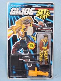 1. Brinquedos antigos - Hasbro - Battle Corps Leatherneck completo Blister lacrado Ano 1992