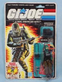 1. Brinquedos antigos - Hasbro - Beach Head completo Blister lacrado Ano 1985