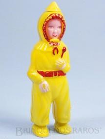 1. Brinquedos antigos - Sem identificação - Bebê com fisionomia Feliz Chorando e Dormindo 13,00 cm de altura Olhos pintados Década de 1950