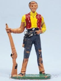Brinquedos Antigos - Casablanca e Gulliver - Ben Cartwrith de p� com rifle S�rie Fazenda Ponderossa