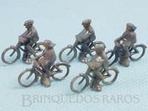 1. Brinquedos antigos - Wiking - Bicicleta em plástico marmorizado Década de 1950 Preço por unidade