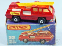 Brinquedos Antigos - Matchbox - Blaze Buster Superfast