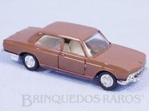 1. Brinquedos antigos - Schuco-Rei - BMW 2800 marrom Schuco Modell Brasilianische Schuco Rei