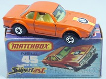 Brinquedos Antigos - Matchbox - BMW 3.0 CSL Superfast