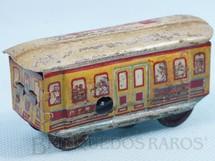 1. Brinquedos antigos - Technofix G.E.N. - Bonde com 9,00 cm de comprimento Penny Toy Década de 1920