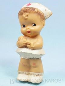 Brinquedos Antigos - Estrela - Boneca A Pequena Enfermeira com 17,00 cm de altura  Ano 1960