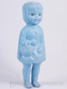1. Brinquedos antigos - Estrela - Boneca Chapeuzinho Vermelho com 21,00 cm de altura Década de 1960