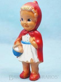 1. Brinquedos antigos - Estrela - Boneca Chapeuzinho Vermelho com Apito 12,00 cm de altura Ano 1957
