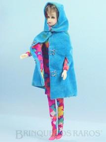 Brinquedos Antigos - Mattel - Boneca Francie prima da Barbie vestindo o Conjunto Style Setters Anos 1966 e 1967 Para maiores informações sobre essa Boneca veja Coleções.