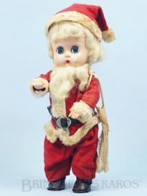 Brinquedos Antigos - Trol - Boneca Papai Noel com 21,00 cm de altura Brinde da Cesta de Natal Amaral Década de 1960