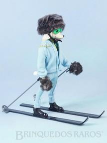 1. Brinquedos antigos - Hasbro - Boneca Peteena com 23,00 cm de altura vestindo o Conjunto ZeroCool para esquiar com 9 itens Ano 1966. Para maiores informações sobre essa Boneca veja Coleções.