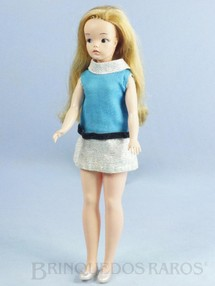 Brinquedos Antigos - Estrela - Boneca Susi 100% original Olhos Pintados Perfeito estado Completa Primeira Série Ano 1966