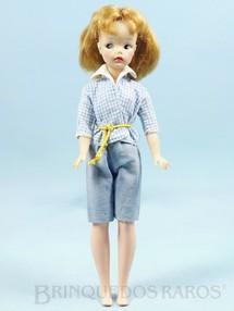 Brinquedos Antigos - Estrela - Boneca Susi 100% original Olhos Pintados Perfeito estado Primeira Série Roupa azul Faltam os sapatos e a Raquete de Tênis Ano 1966
