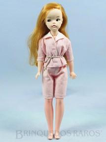 1. Brinquedos antigos - Estrela - Boneca Susi 100% original Olhos Pintados Perfeito estado Primeira Série Roupa cor de rosa Faltam os sapatos e a Raquete de Tênis Ano 1966