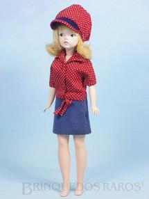 Brinquedos Antigos - Estrela - Boneca Susi 100% original Olhos Pintados Perfeito estado Primeira Série variação fora de Catálogo Faltam os sapatos Ano 1967