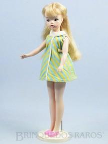 Brinquedos Antigos - Estrela - Boneca Susi 100% original Olhos Pintados Primeira Série Completa com Suporte Ano 1966