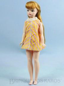 Brinquedos Antigos - Estrela - Boneca Susi 100% original Olhos Pintados Primeira Série Faltam os sapatos Ano 1968