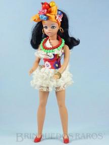 Brinquedos Antigos - Estrela - Boneca Susi Baiana Série Susi faz Pose Cintura móvel 100% original Perfeito estado Completa Ano 1971