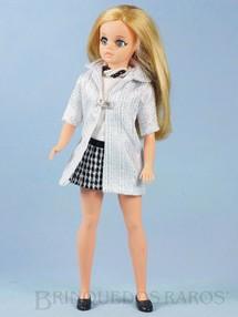 1. Brinquedos antigos - Estrela - Boneca Susi Série Susi faz Pose Cintura móvel 100% original Perfeito estado Completa Fora de Catálogo Ano 1970 a 1972
