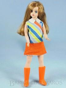 1. Brinquedos antigos - Estrela - Boneca Susi Série Susi faz Pose 100% original Perfeito estado Completa Fora de Catálogo Ano 1969 a 1970
