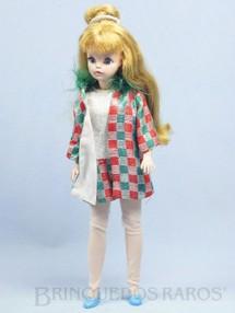 Brinquedos Antigos - Estrela - Boneca Susi Série Susi faz Pose Toda original Perfeito estado Completa Ano 1969