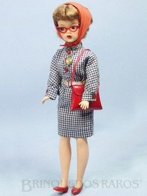 1. Brinquedos antigos - Ideal - Boneca Tammy Doll com 30,00 cm de altura Boneca Matriz da Susi Brasileira Década de 1960