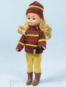 1. Brinquedos antigos - Estrela - Boneca Valentina com 20,00 cm de altura completa e 100% original Ano 1974