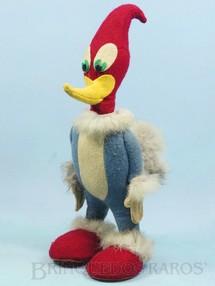 1. Brinquedos antigos - Estrela - Boneco do Pica Pau com 34,00 cm de altura Corpo todo em feltro com detalhes em pele de coelho Década de 1950
