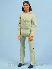1. Brinquedos antigos - Marx - Boneco Índio Geronimo Série Best of the West com 30,00 cm de altura  Ano 1967