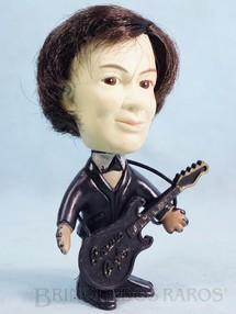 1. Brinquedos antigos - Estrela - Boneco Jovem Guarda com 13,00 cm de altura modelo Erasmo Carlos completo Tremendão Década de 1960 Fora de Catálogo