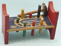 1. Brinquedos antigos - Coluna - Brinquedo de bater Martelinho Bate Estaca Década de 1970