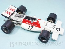 1. Brinquedos antigos - Politoys e Polistil - BRM Marlboro Formula 1 piloto Jean Pierre Beltoise Politoys Ano 1971