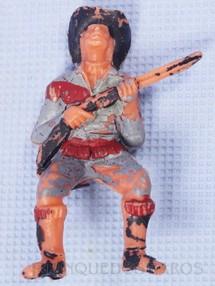Brinquedos Antigos - Casablanca e Gulliver - Figura de Bufalo Bill Gulliver numerado 125