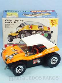 Brinquedos Antigos - Taiyo - Buggy Sand Buggy com 25,00 cm de comprimento Carroceria de plástico rígido Sistema Não Cai da Mesa  Perfeito estado Década de 1970