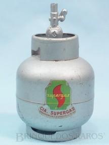 1. Brinquedos antigos - Sem identificação - Bujão de Gaz com 11,00 cm de altura Brinde Companhia Supergaz Década de 1960
