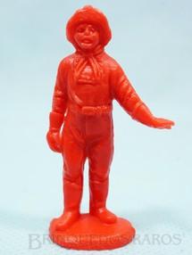 1. Brinquedos antigos - Casablanca e Gulliver - Cabo Rusty Forte Apache Gulliver de plástico vermelho Década de 1980