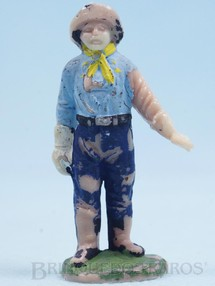 Brinquedos Antigos - Casablanca e Gulliver - Cabo Rusty Forte Apache Gulliver Década de 1960