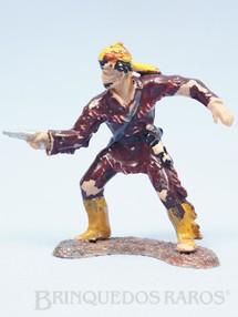 1. Brinquedos antigos - Casablanca e Gulliver - Caçador atirando com revolver Série Planície Selvagem Ano 1973