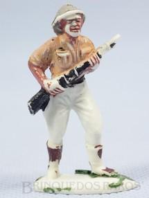 1. Brinquedos antigos - Casablanca e Gulliver - Caçador branco Série Safari na África Década de 1960