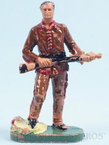Brinquedos Antigos - Casablanca e Gulliver - Caçador de Búfalos Gulliver Década de 1970